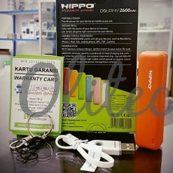 Powerbank Hippo Dolphy 2600mAh Original