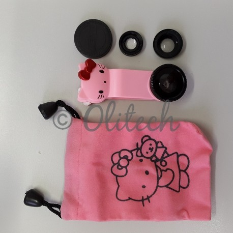 Universal Lens 3in1 Hello Kitty Edition