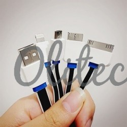 Kabel 1-4 (Charger&Data) Panjang 100cm