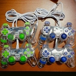 Gamepad Double Transparant R-One