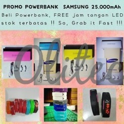 Promo Powerbank 25000mAh