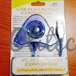 Connector USB to Playstation Double